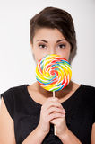 Really big lollipop. Stock Image