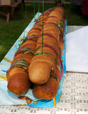 Big long bread at the kirn Royalty Free Stock Photos