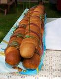 Big long bread at the kirn Royalty Free Stock Photos