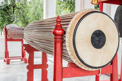 Big and long drum Royalty Free Stock Photos