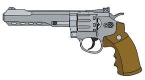 Big long revolver Stock Photography