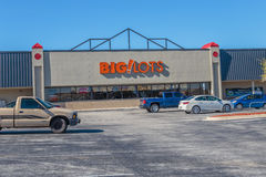 Big Lots Department Store Stock Image
