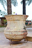 Big lotus pot Stock Photo