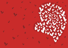 Big love for valentine Royalty Free Stock Photos