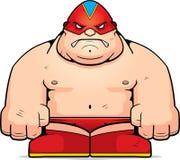 Big Luchador royalty free illustration