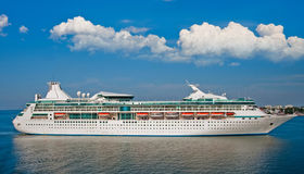 Big luxury cruise ship Royalty Free Stock Images