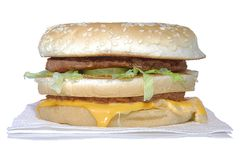 Big Mac Stock Image
