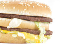 Big mac Royalty Free Stock Photo