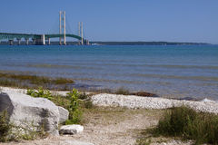 Big Mackinac Bridge Royalty Free Stock Image