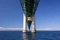 Big Mackinac Bridge Stock Photo