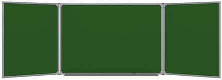 Big magnetic green board Royalty Free Stock Photos