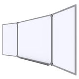 Big magnetic white board Royalty Free Stock Image