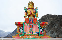 The Big Maitreya Buddha statue Stock Photo