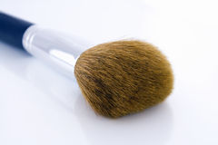 Big make-up brush. For face powder or foundation Royalty Free Stock Photos