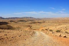 The Big Makhtesh, Israel Stock Photography