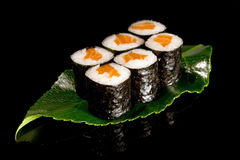 Big maki sushi Stock Images