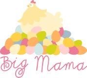 Big Mama Easter Hen Royalty Free Stock Image