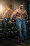 big man muscles Στοκ φωτογραφία με δικαίωμα ελεύθερης χρήσης