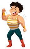 big man muscles Στοκ εικόνα με δικαίωμα ελεύθερης χρήσης