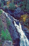 Big Manitou Falls. In Pattison State Park Royalty Free Stock Images