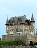 Big mansion. A big mansion in France Royalty Free Stock Images