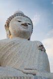 Big marble buddha statue Phuket island, Thailand Royalty Free Stock Photos