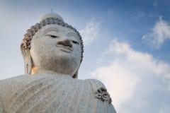 Big marble buddha statue Phuket island, Thailand Royalty Free Stock Images