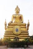 Big marble buddha statue Phuket island, Thailand Stock Photo