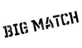Big Match rubber stamp Royalty Free Stock Image