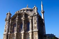 Big mecidiye mosque 2. Big mecidiye mosque in the istanbul turkey Royalty Free Stock Photo