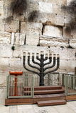 Big menorah Stock Image