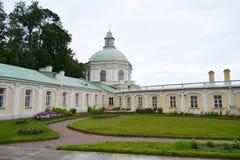 Big Menshikovsky palace in Oranienbaum. royalty free stock images