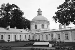 Big Menshikovsky palace in Oranienbaum. Stock Image