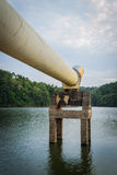 A big metal pipe Royalty Free Stock Images