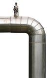 Big metal tubes Stock Image
