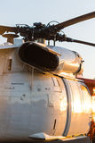Big military helicopter Stock Image