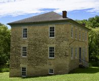 The Big Mill Homestead Royalty Free Stock Photography