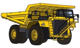 Big mining dump truck Royalty Free Stock Image