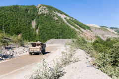 Big Mining Truck Stock Image