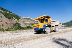 Big Mining Truck Stock Photo