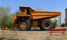 Big mining truck Stock Photo