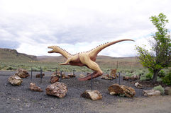 Big model of dinosaur Royalty Free Stock Photo