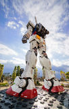 The big model Gundum robot. Royalty Free Stock Images