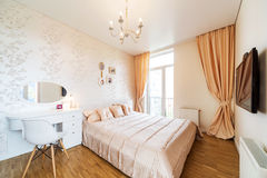 Big modern Bedroom Royalty Free Stock Photos