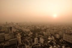 Big modern city Stock Image