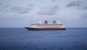 Big modern cruise ship Stock Photo