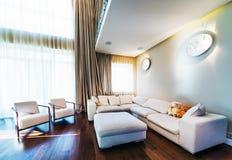 Big modern living room Royalty Free Stock Photos