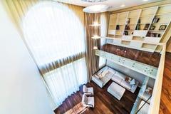 Big modern living room Royalty Free Stock Image
