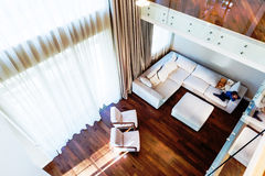 Big modern living room Royalty Free Stock Photography