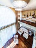 Big modern living room Stock Photo